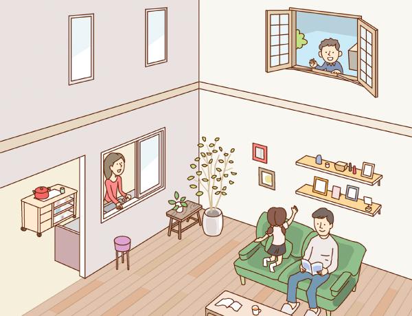 家の中に窓があるって楽しそう リフォームテーマから探す Ykk Ap株式会社
