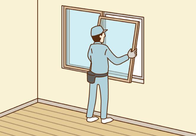 リフォームで今ある窓はそのまま内窓をつける